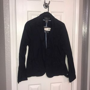 New w Tags Size 14 Cotton Navy Blazer Jacket Coat